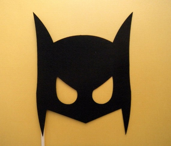 Маска бэтмена своими руками из бумаги шаблоны